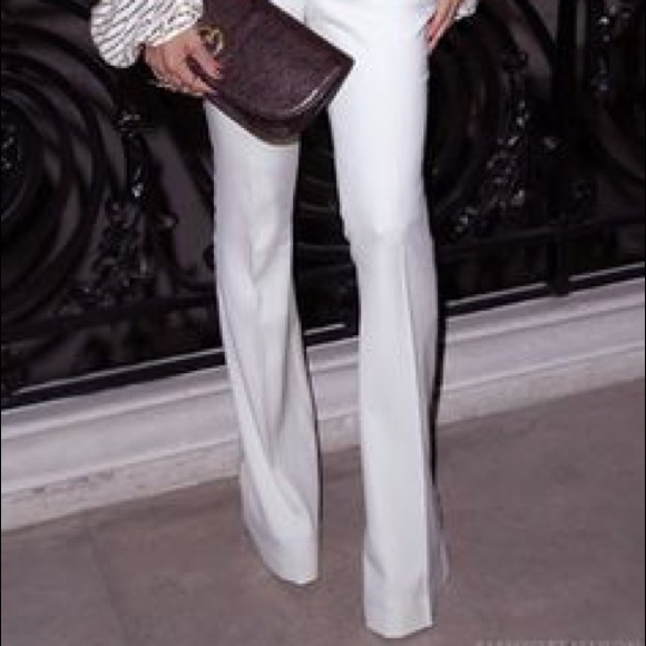 GAP Pants - White Gap 69 Patch Pockets Wide Leg Jeans